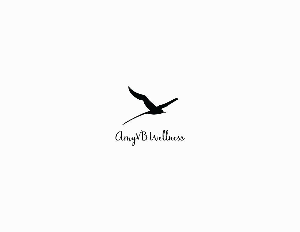 Amy VB Wellness logo design