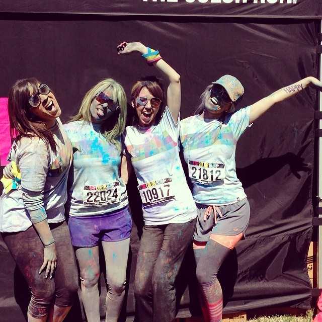 Color Run w/ my best friends