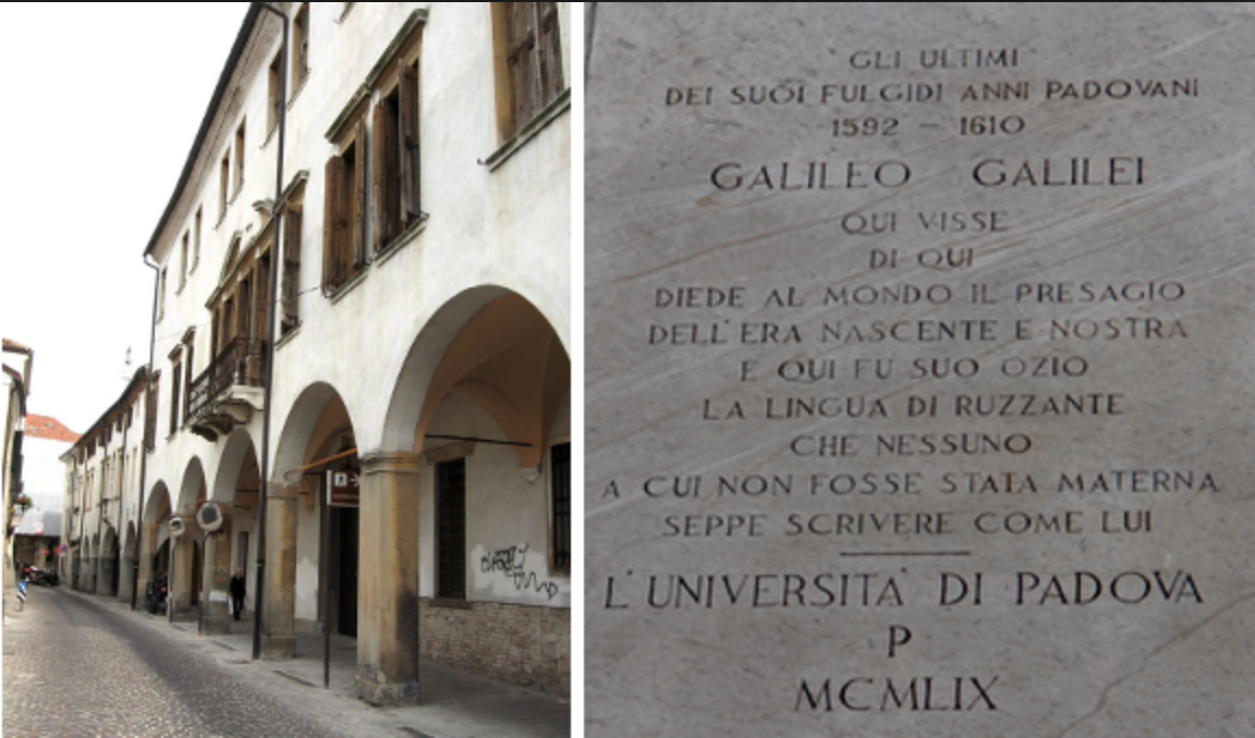 HOUSE OF GALILEO GALILEI