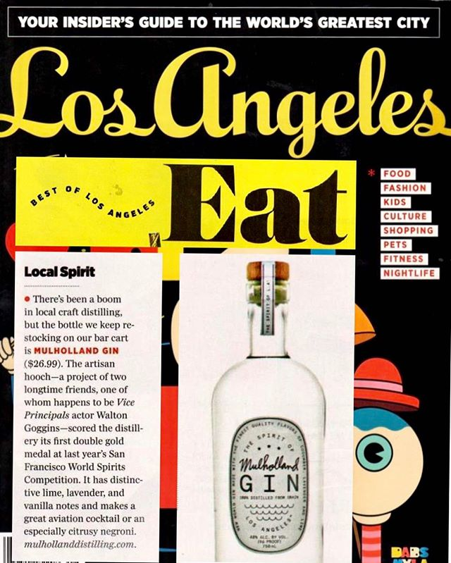 Not boasting. Just proud. We work so damn hard and it feels pretty good when you get an attaboy. Thanks @lamag