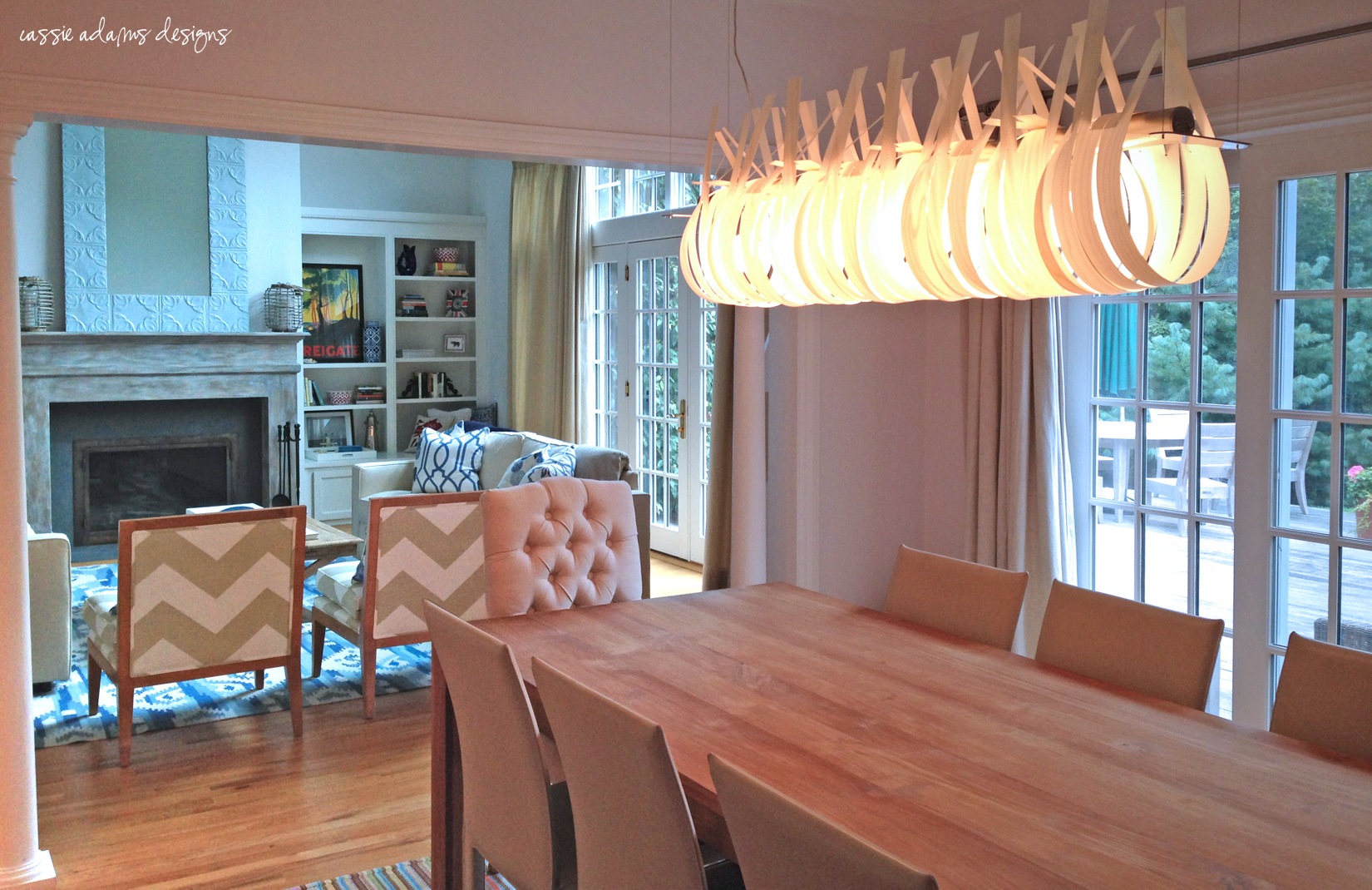 hamptons dining room
