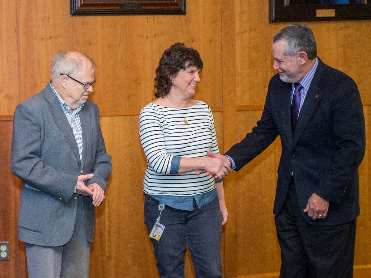 Kutztown University's Carlton Chambliss Award for Faculty Research