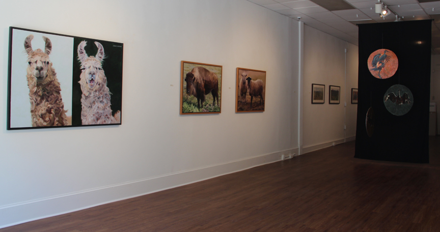 """Strange Pastures"" Salisbury University Art Gallery, May/June 2016"