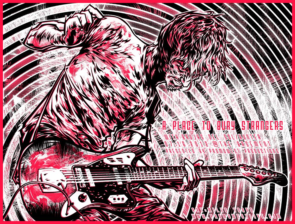 Silkscreen | A Place To Bury Strangers | 03