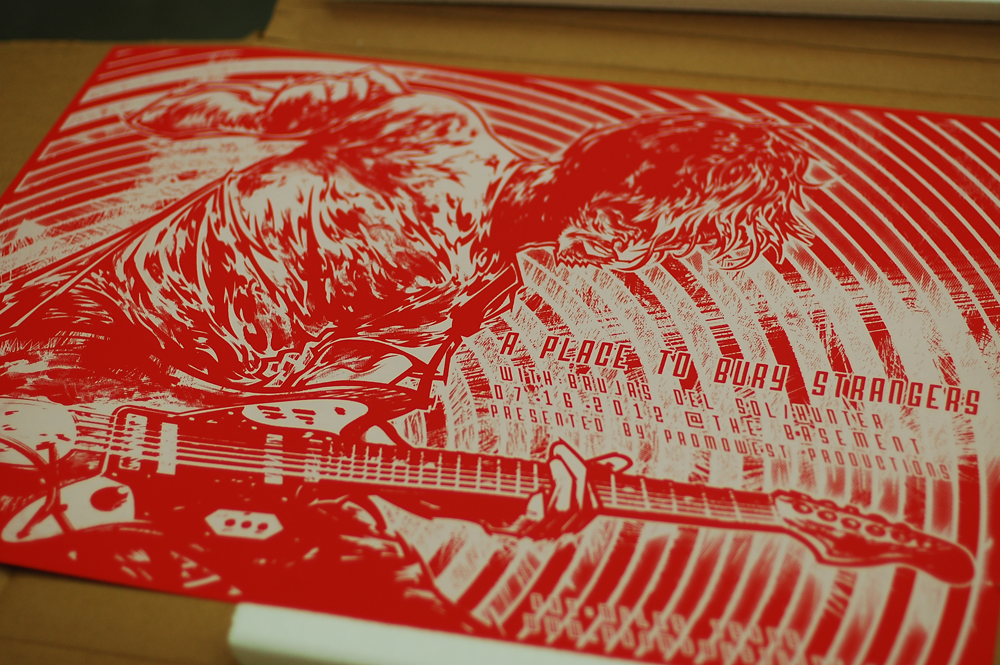 Silkscreen | A Place To Bury Strangers | 05