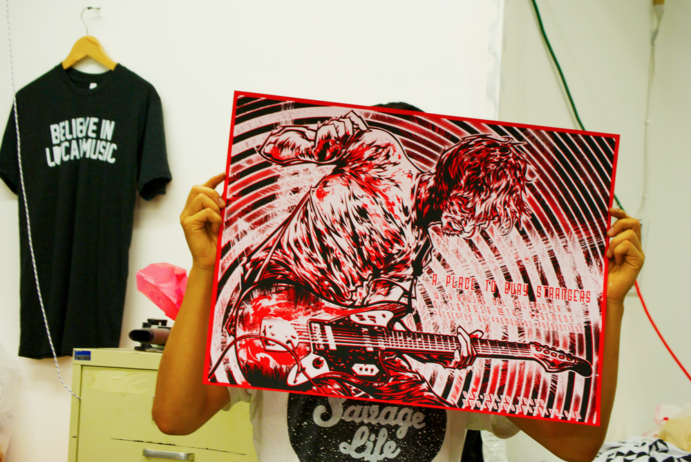 Silkscreen | A Place To Bury Strangers | 12