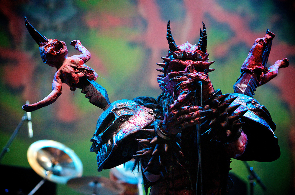 Oderus lays waste to a baby.