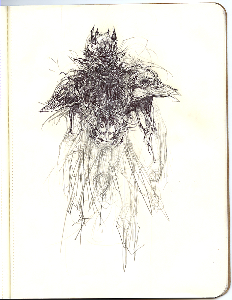 An old Gwar sketch used to loosen up.
