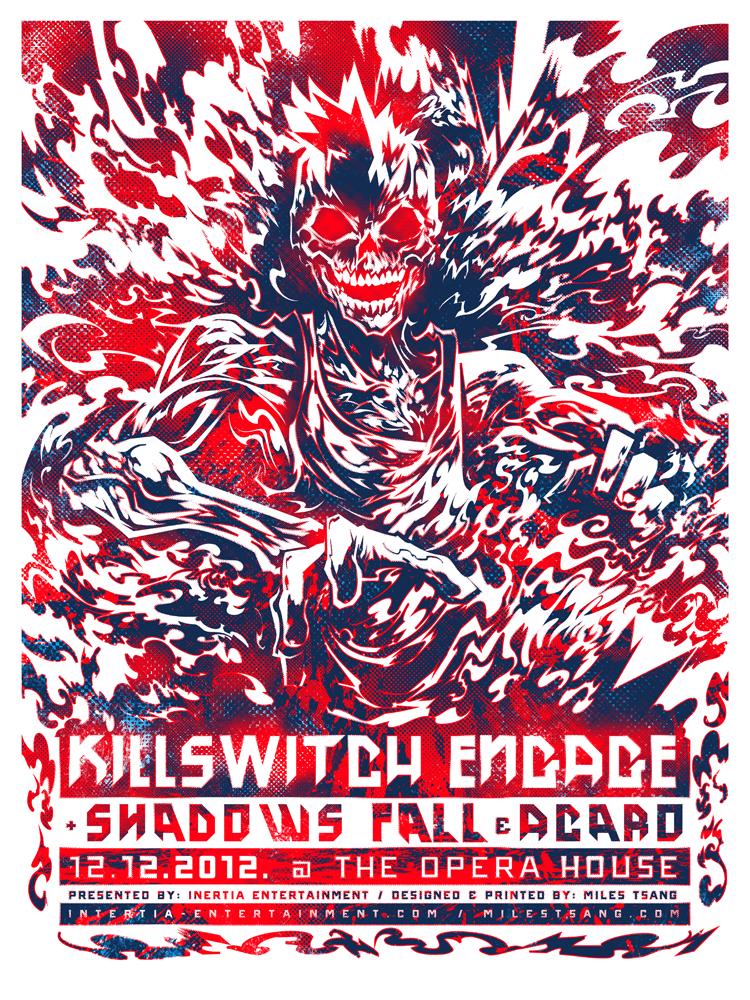 Killswitch Engage 12-12-2012.