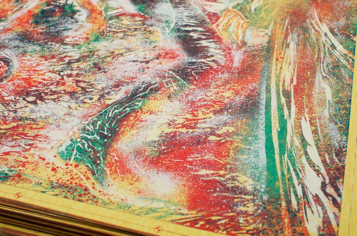 Process close-up of Glenn Rhee.