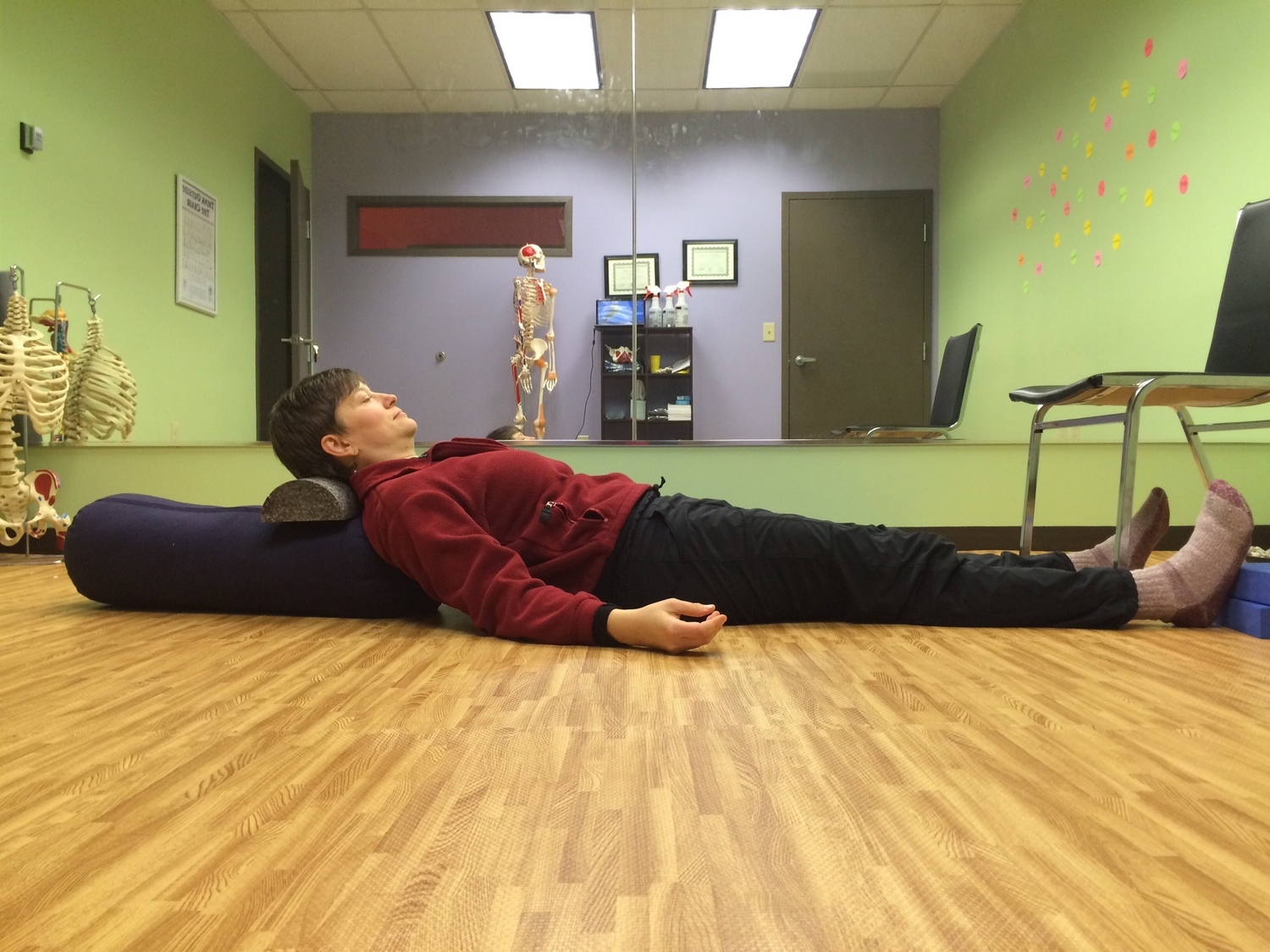 Tired of sitting? Relax in a psoas release!*