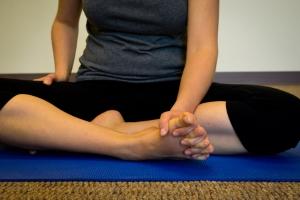 toe stretch