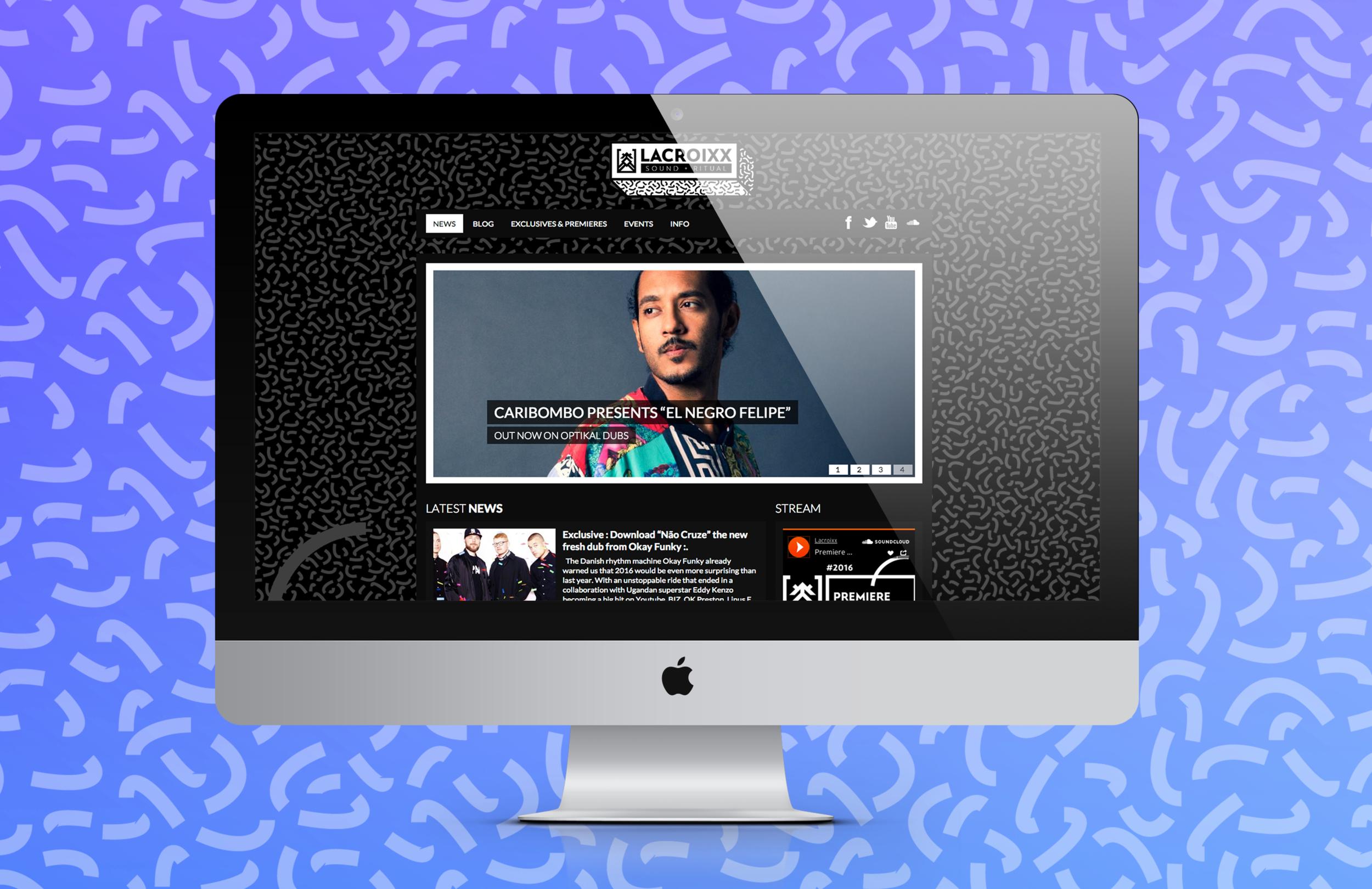 lacroixx web mockup