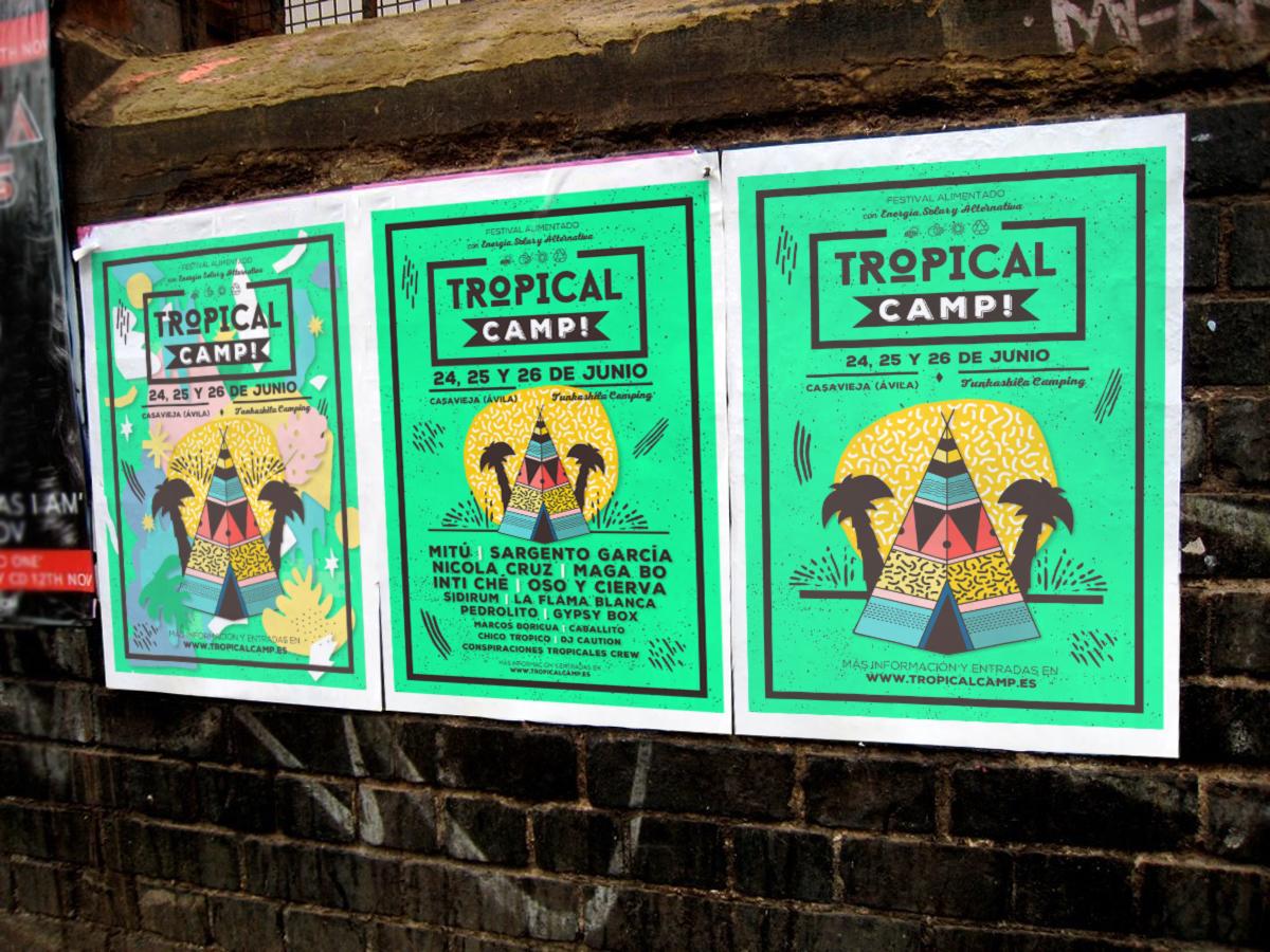 tropical camp cartel mockup