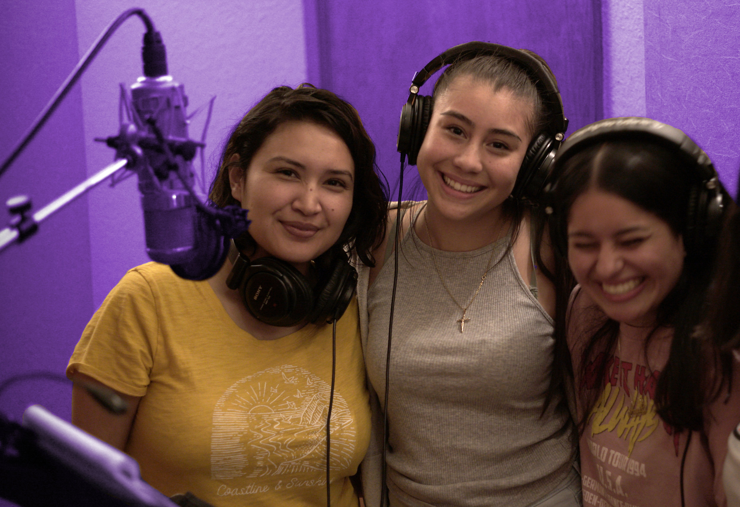 think women campaign future youth records in the studio