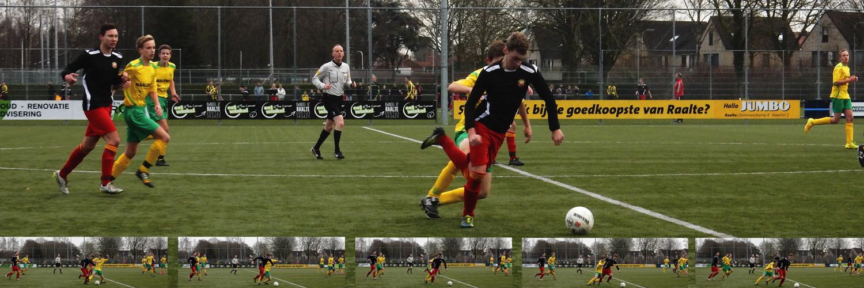 Rik van Assen in action
