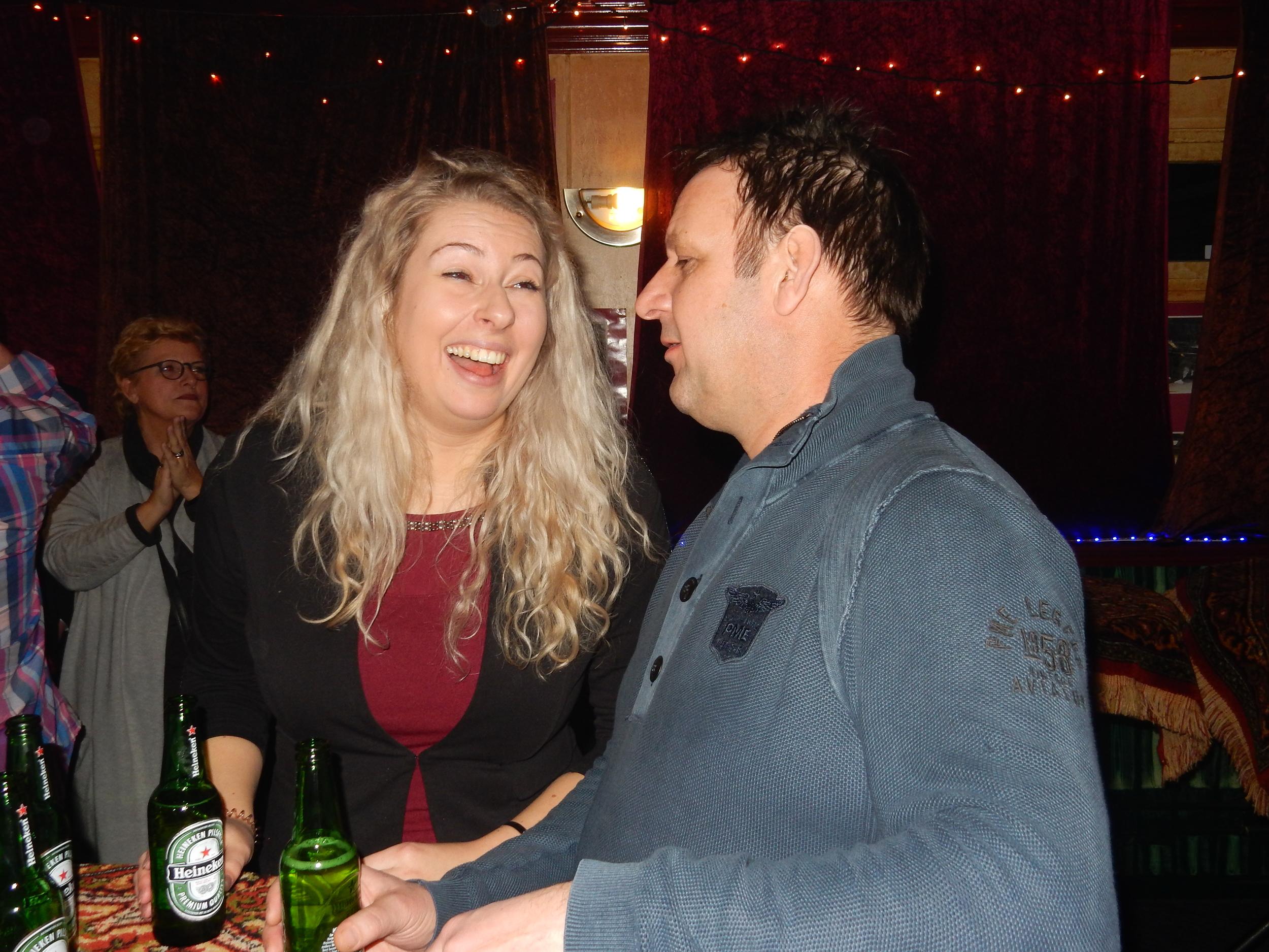 Nicole en Robby