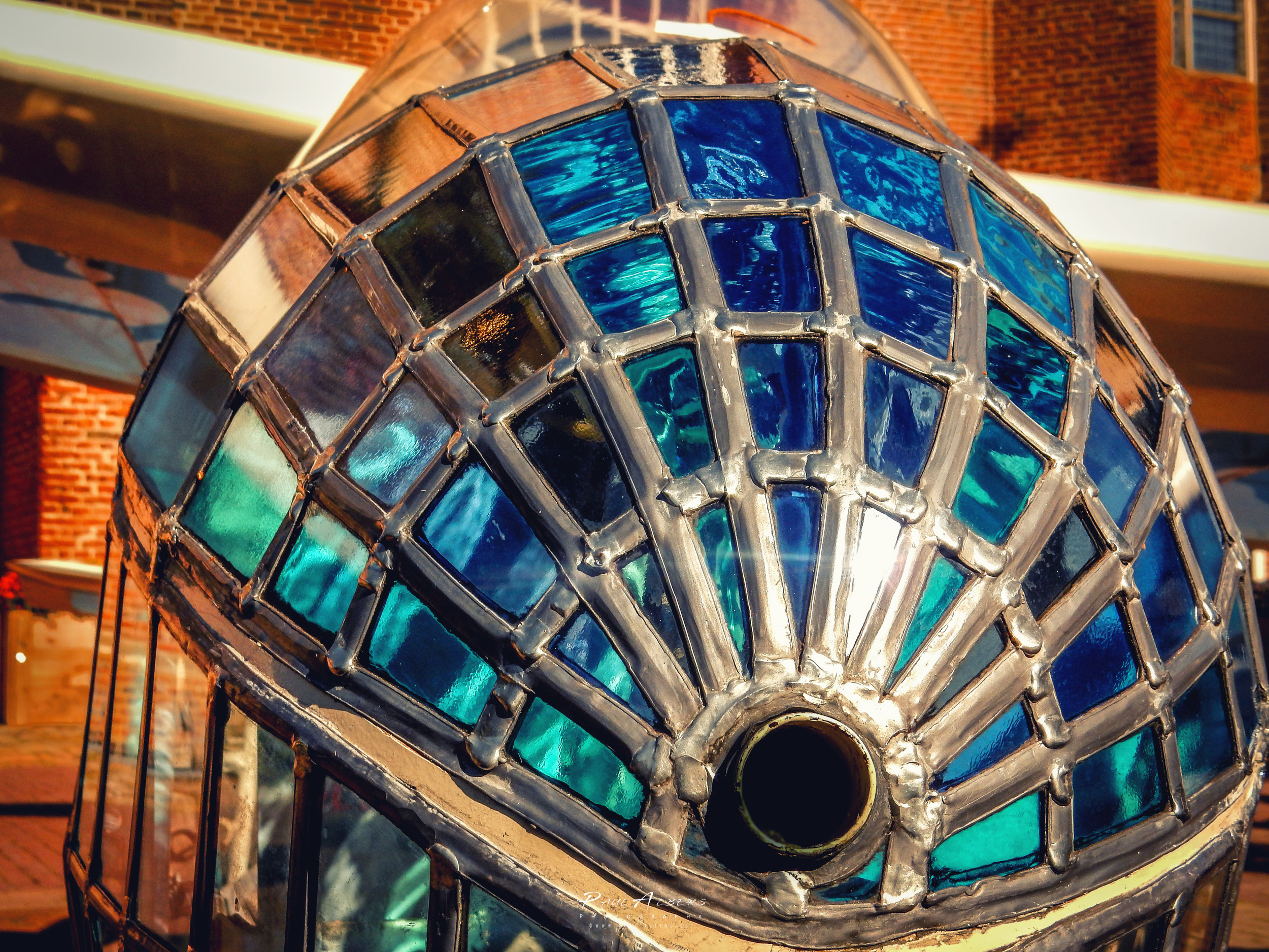 Glas in lood kunst