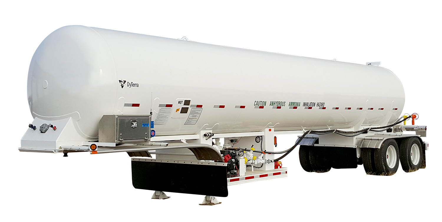 8100 gallon nh3 delivery unit