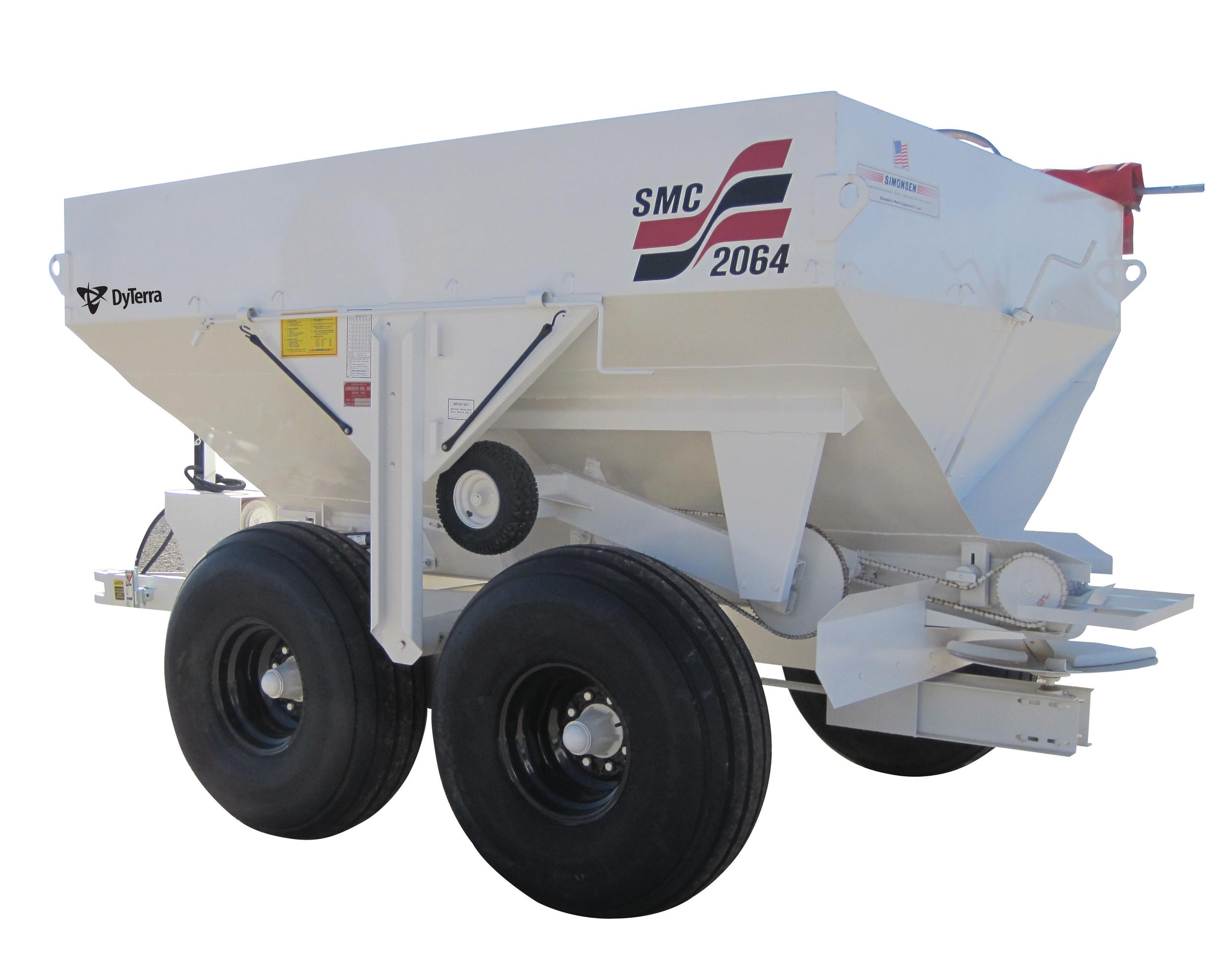 SMC2064S - 6-ton spreader ss