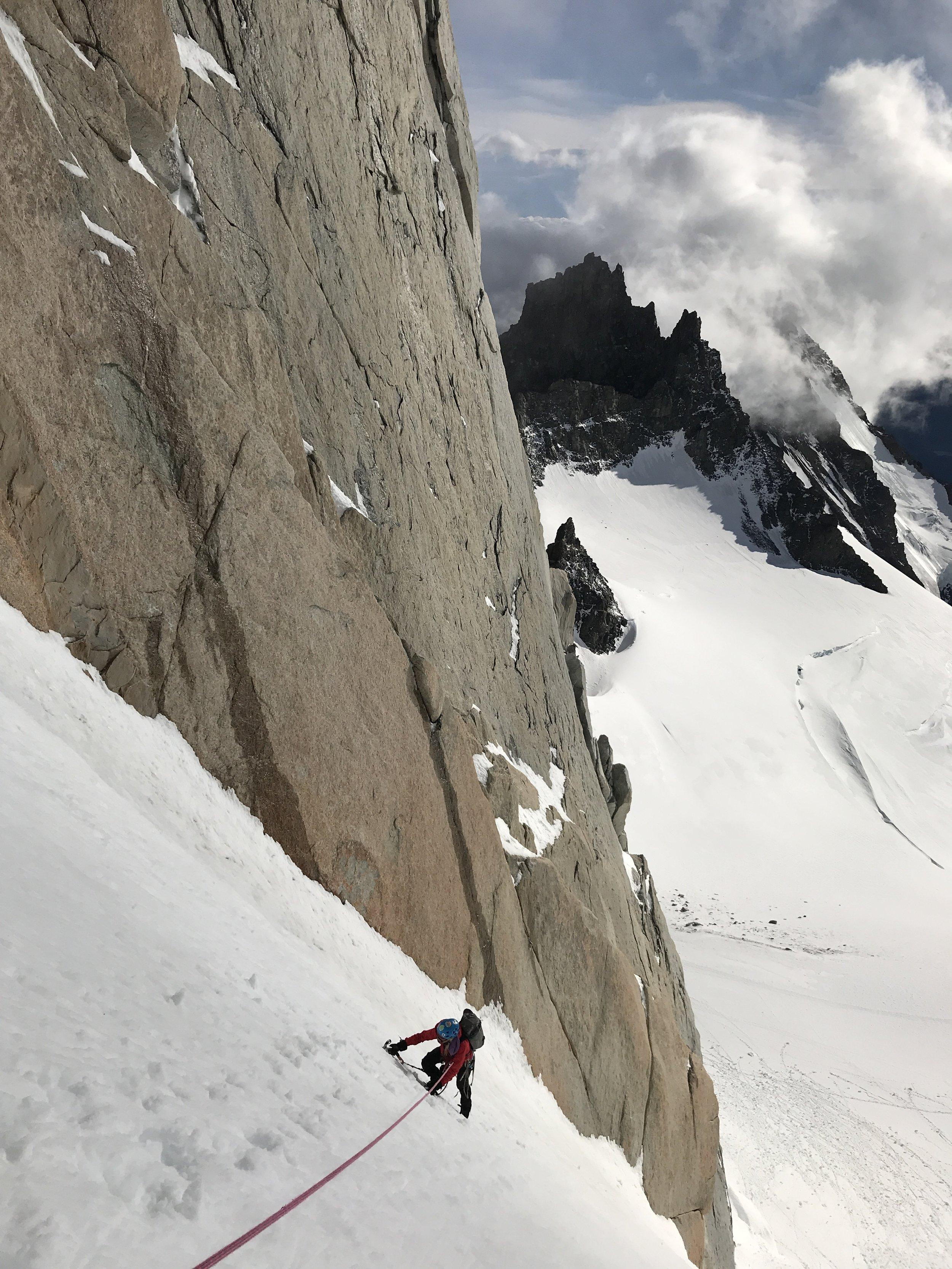 More snow/ice practice