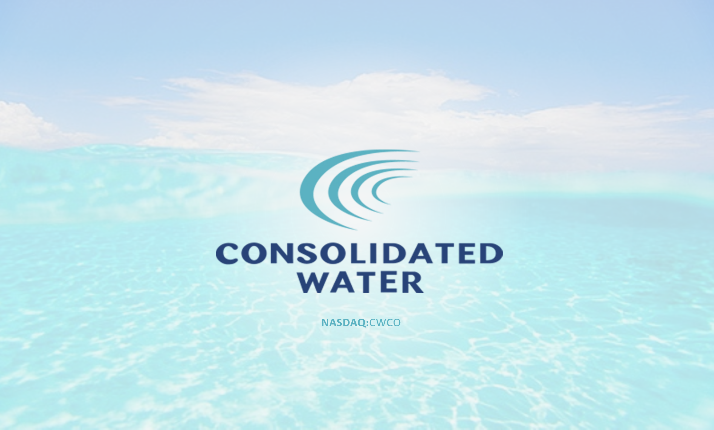 Consolidated Water Co. Ltd. (Nasdaq:CWCO)