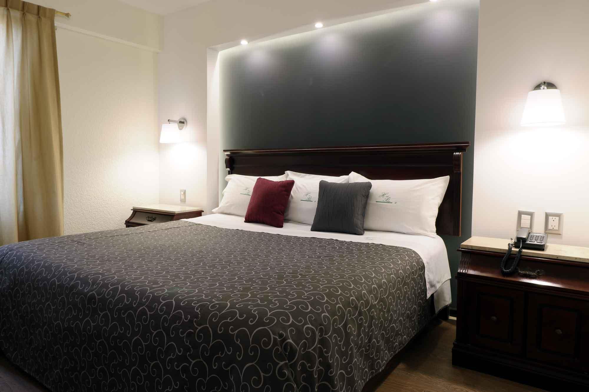 hotel palacio Toluca habitación