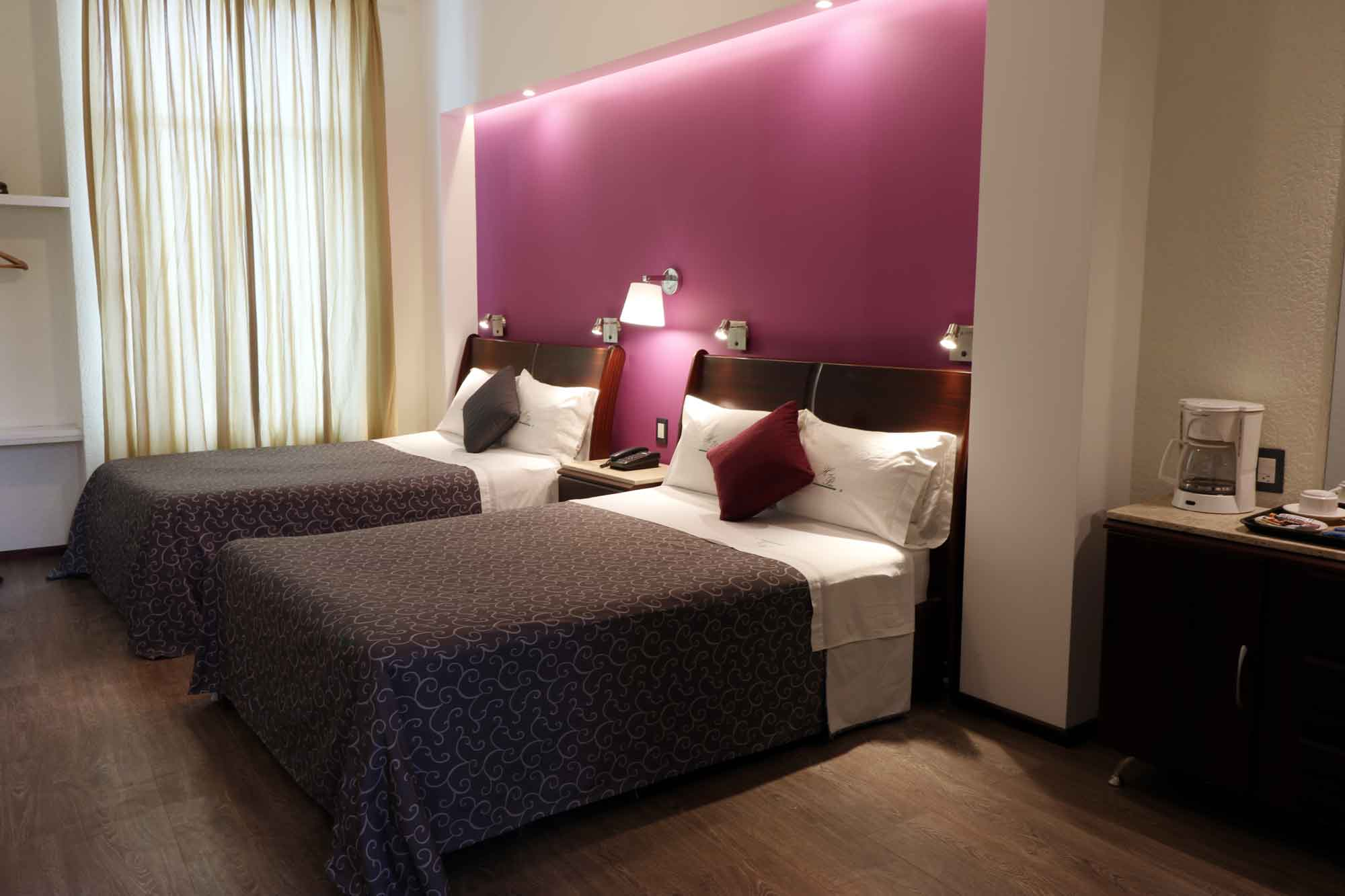 hotel palacio Toluca habitaciones