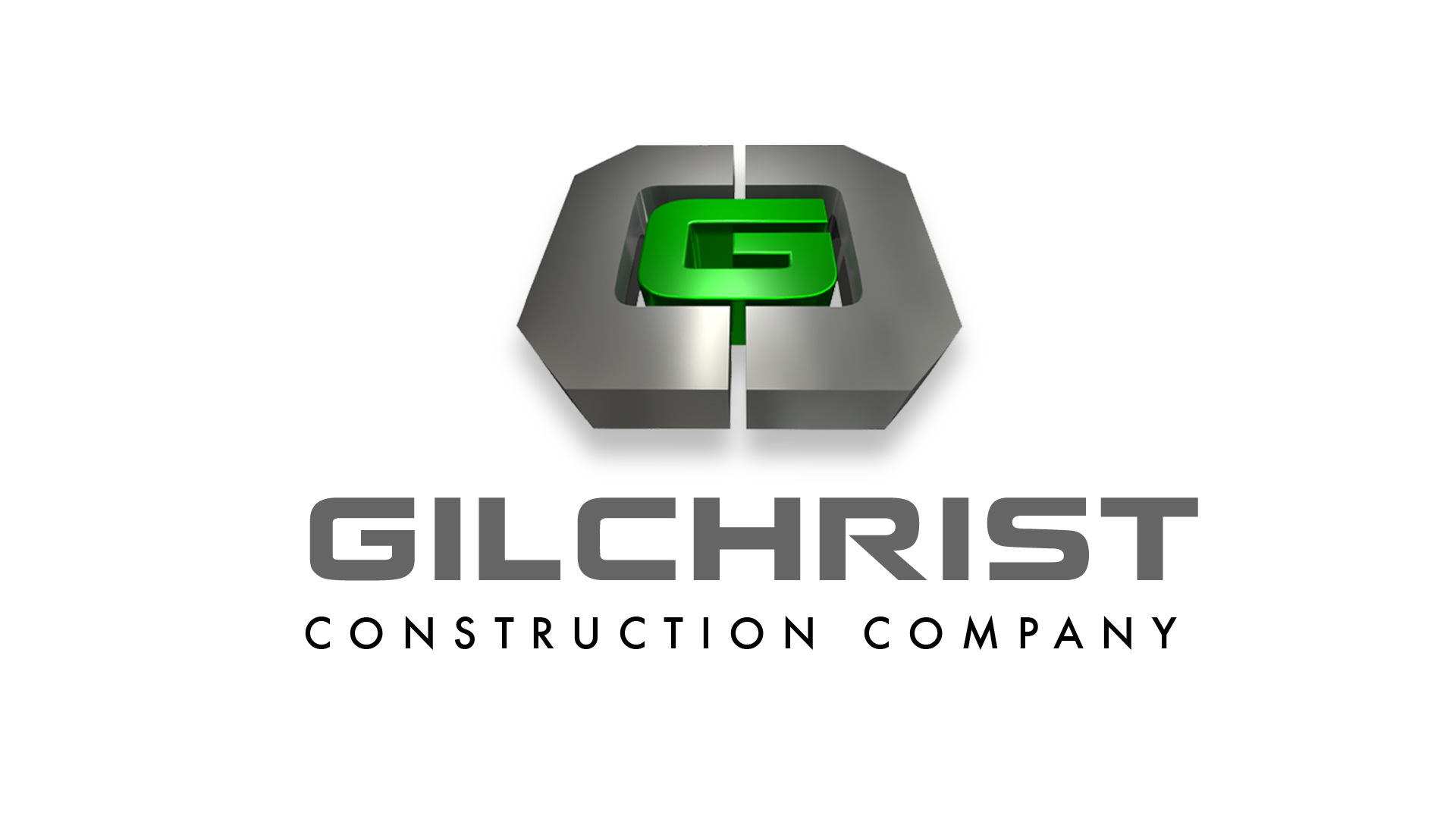 Compose Digital Design | Graphic Design, Baton Rouge | Gilchrist Construction Logo