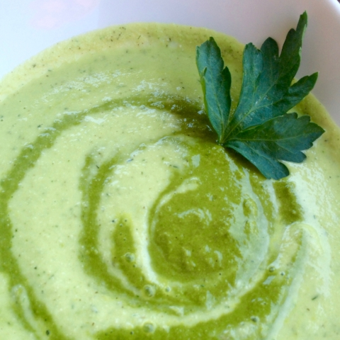 Parsley dipping sauce