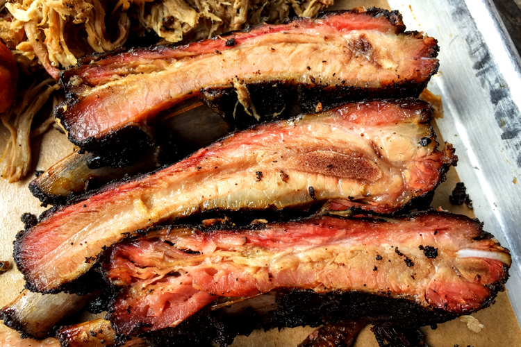 Pork spare ribs