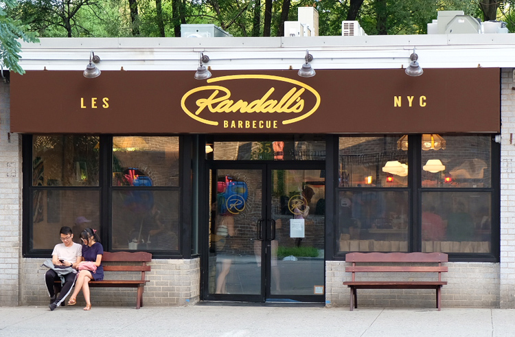 Randall's Barbecue just opened on the Lower East Side and features both classic BBQ items and neighborhood-inspired food.