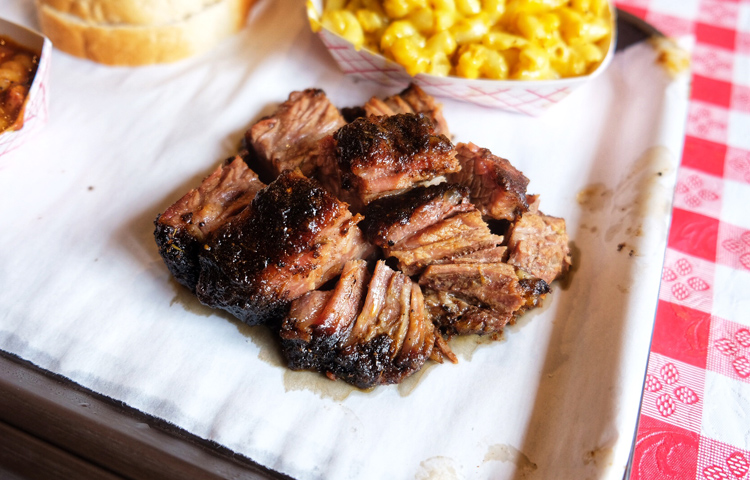 The burnt ends at John Brown Smokehouse in Long Island City are still incredible.