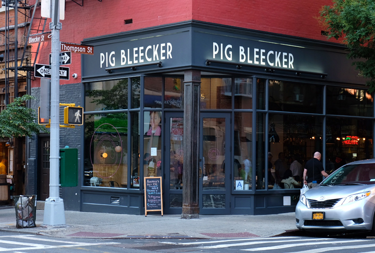 Pig Bleecker, located in Manhattan's West Village, will soon close after being open for more than 2 years.