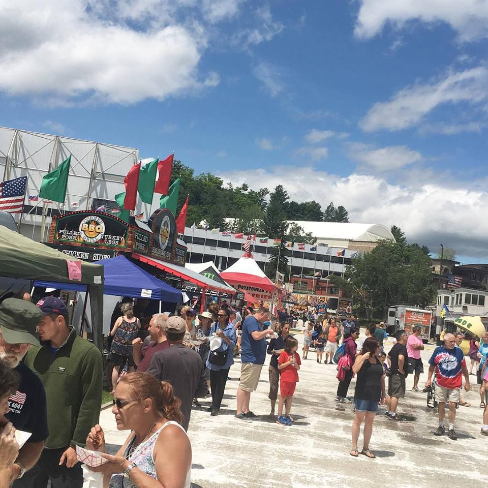 The I Love BBQ and Music Festival attracts people from all over the Northeast for good food and live music.