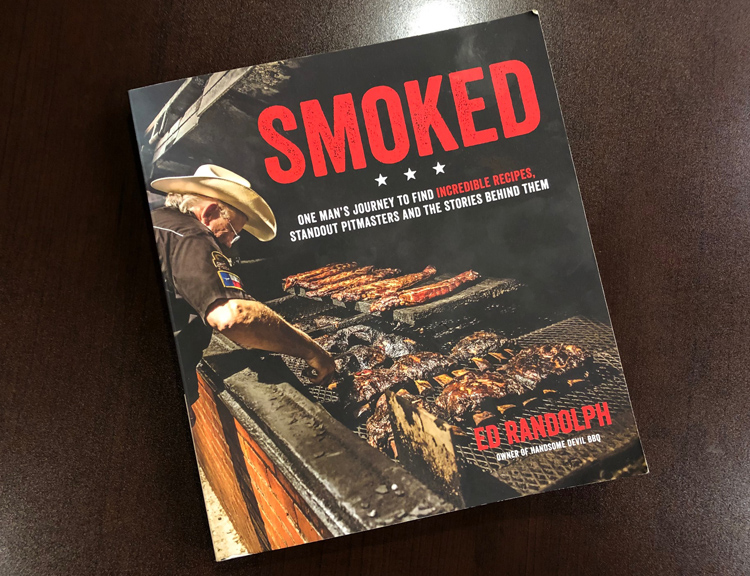 My personal copy of Smoked by Ed Randolph already has worn edges because I've been reading it so much.