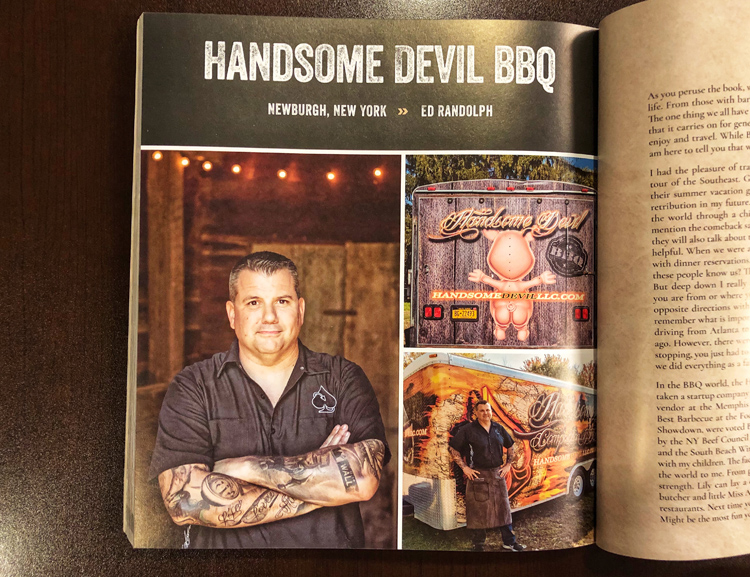 Ed Randolph is the author of Smoked and owner of Handsome Devil BBQ.
