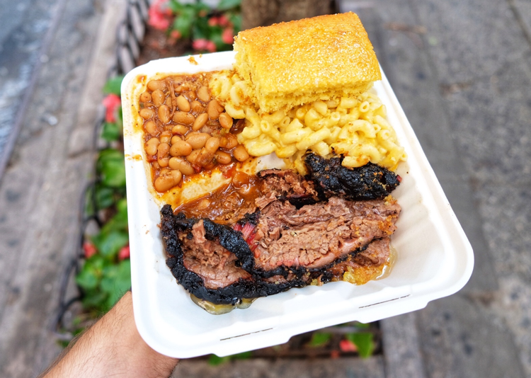 Brisket is in the name of the new Biscuit N Brisket and naturally, it's one of the best items on the menu, along with the beans.