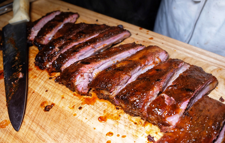 """The ribs from Mable's Smokehouse took home the """"Best Traditional"""" prize at Rib King NYC 2019."""