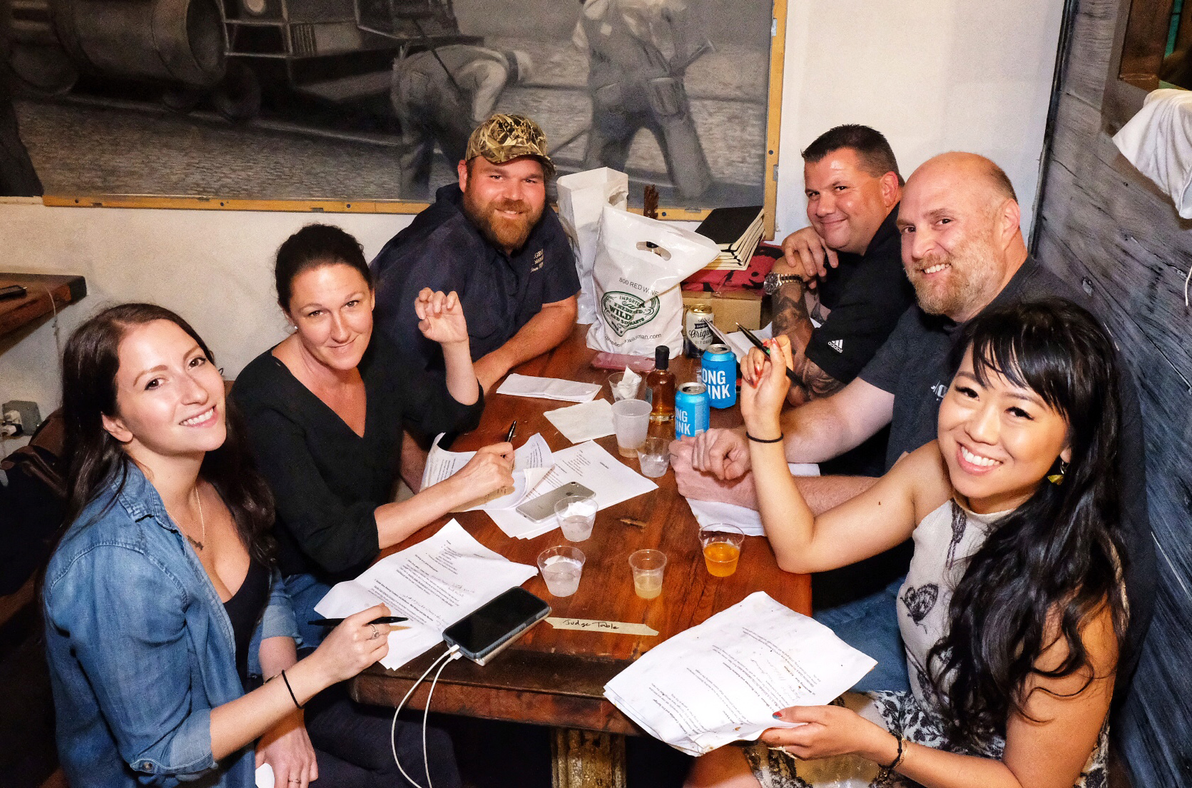 The judges at Rib King NYC 2019 deliberated fiercely at the event to determine the winner.