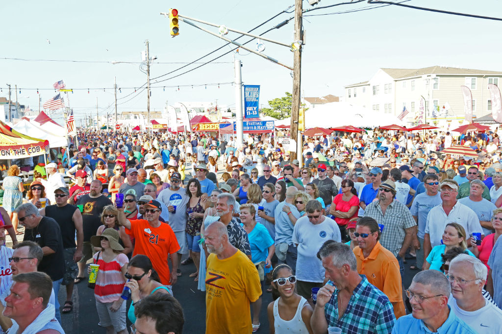 The NJ State Barbecue Championship attracts tons of barbecue fans from around the Northeast.
