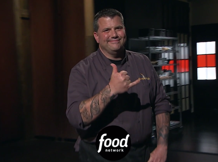 Ed Randolph of Handsome Devil BBQ is now a Chopped Champion.