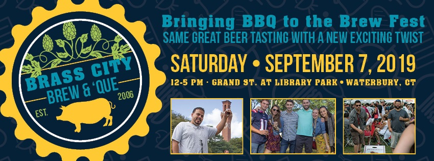 Brass City will be a good opportunity for beer and barbecue fans to gather.