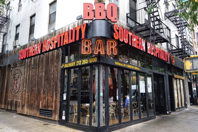 Southern Hospitality BBQ in Hell's Kitchen closed late last week.