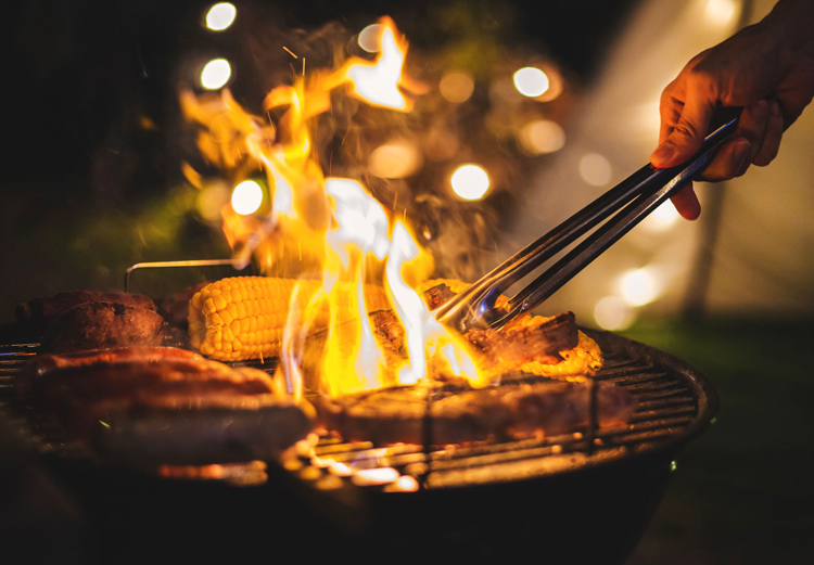 You need be especially careful while grilling or smoking in your urban backyard.