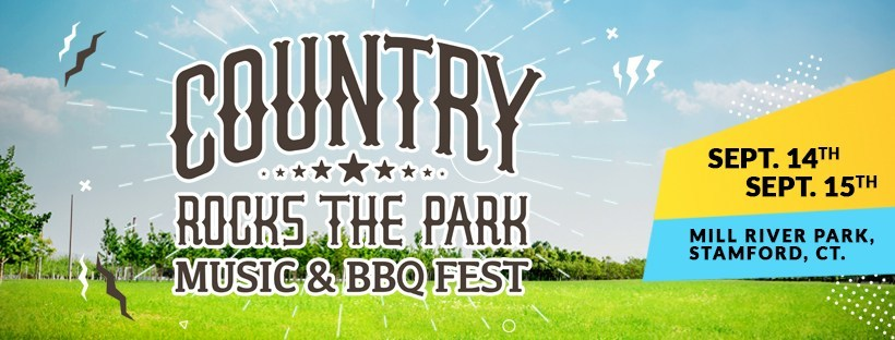 Country rocks the Park will features lots of country music and BBQ.