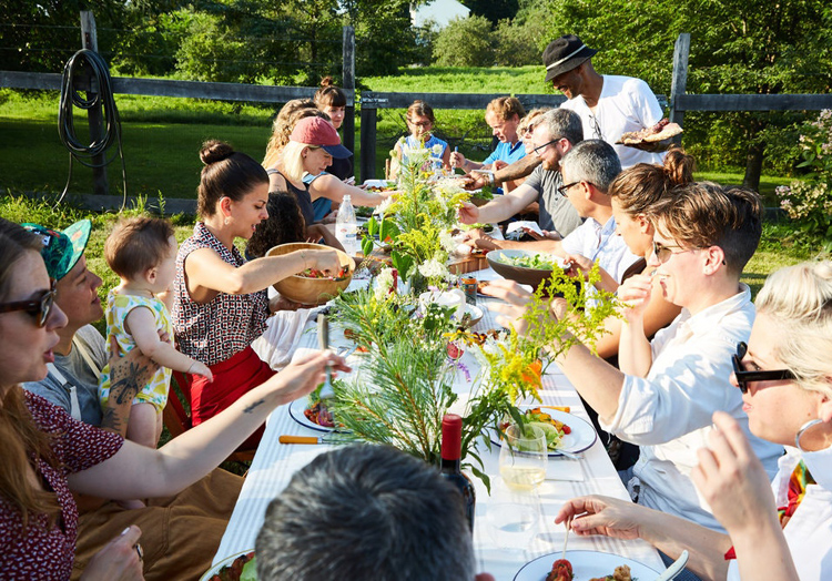 The New York Times' profile on NY butchers Erika Nakamura and Jocelyn Guest also features tips on how to throw a great barbecue party. (Photo by Paul Quitoriano)