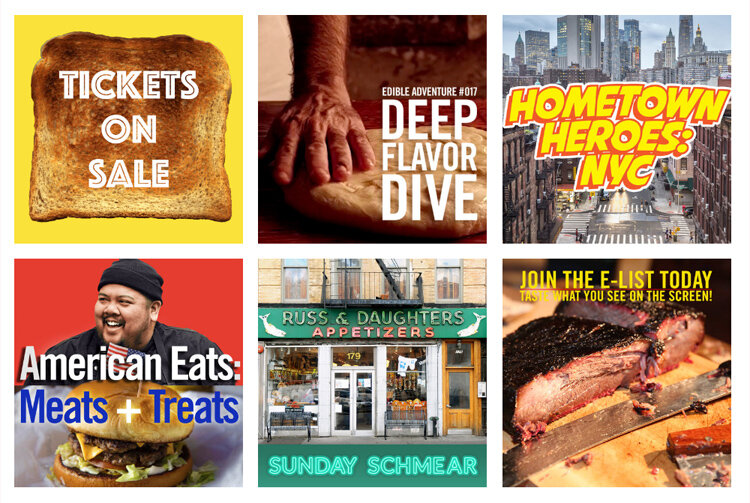 Four delicious events are planned during the Food Film Festival.