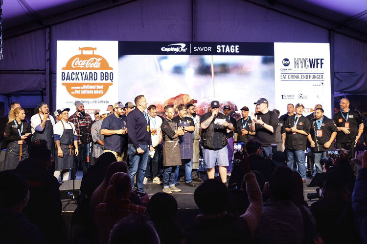 Titans of BBQ at NYCWFF on Saturday will be the last big barbecue event of the year.