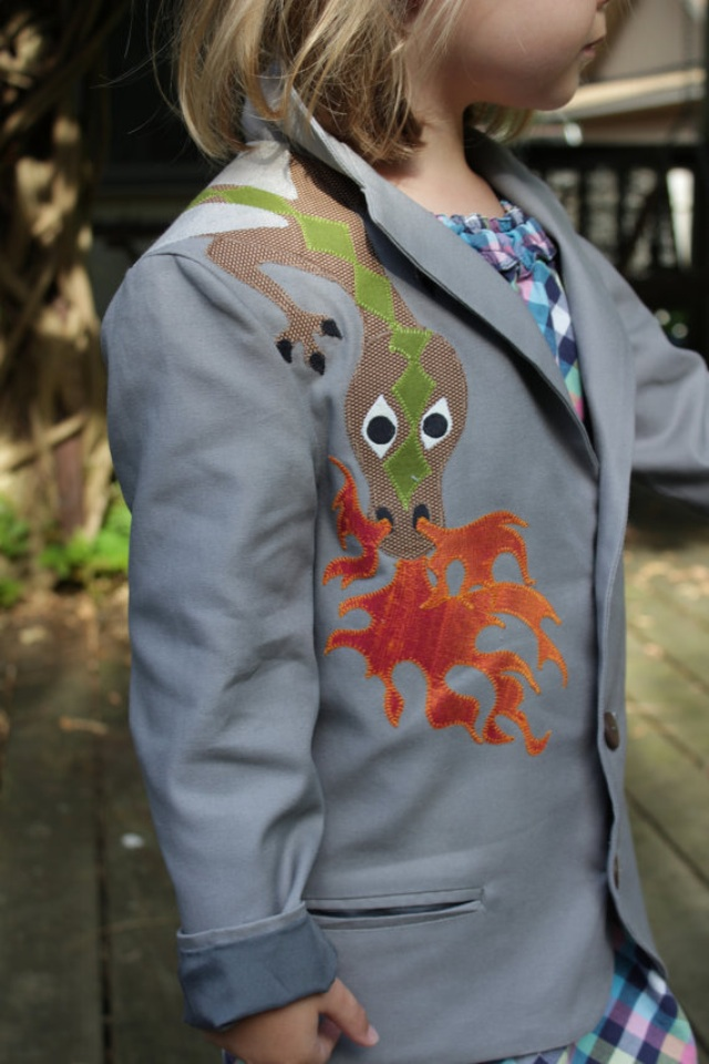 This jacket is available in a size 5 ready to go or for order in many other sizes.